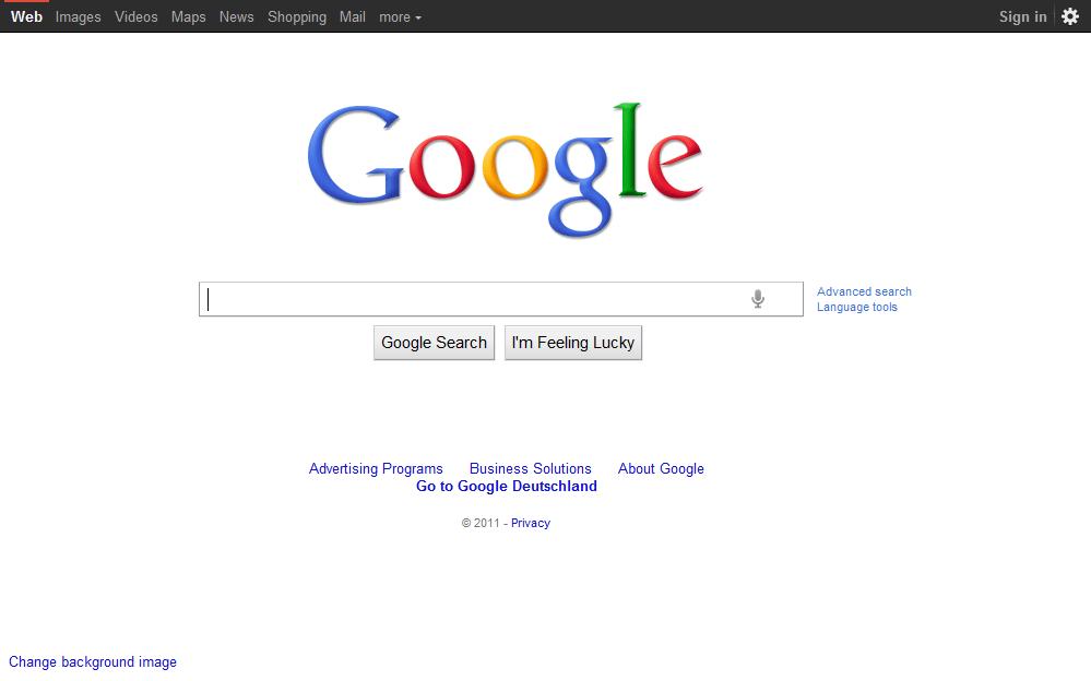 Googlecom 19972011