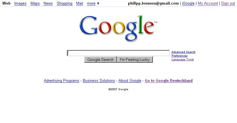 The Google Homepage FAQ