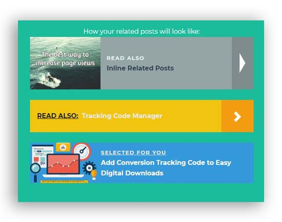 wordpress inline related posts plugin