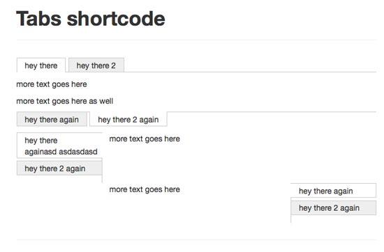 tabs-shortcode