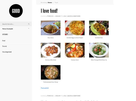 good wordpress theme