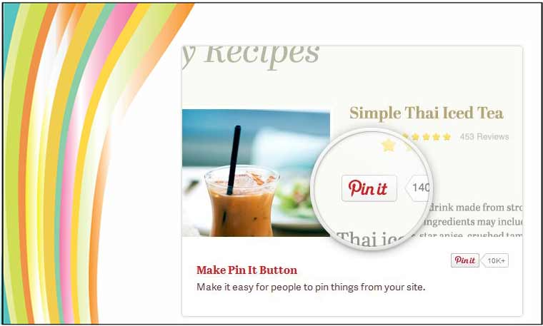 Pinterest Pin It button on your site