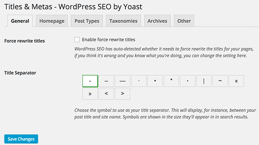 Yoast-Title-general-settings