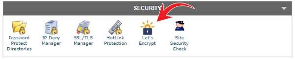 Let's Encrypt certificate SiteGround