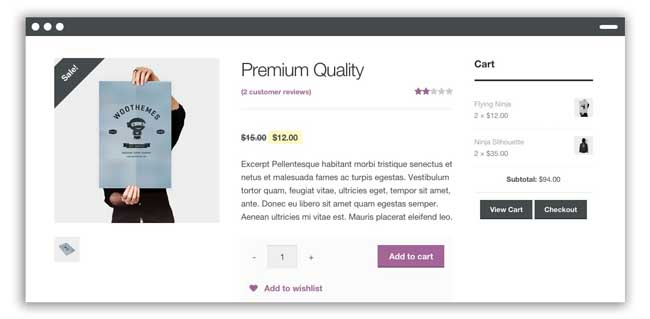 Free online store platform woocommerce