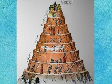 D'après le Purgatoire, la Divine Comédie de Dante, illustration anonyme. (Marsailly/Blogostelle)