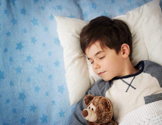 Kinderlamp om lekker bij weg te dromen