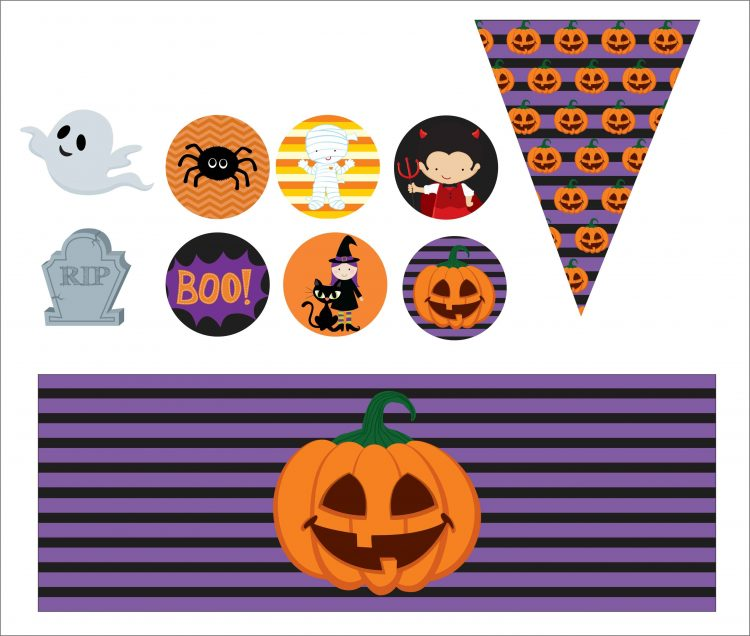 TAGS PARA DOCES HALLOWEEN