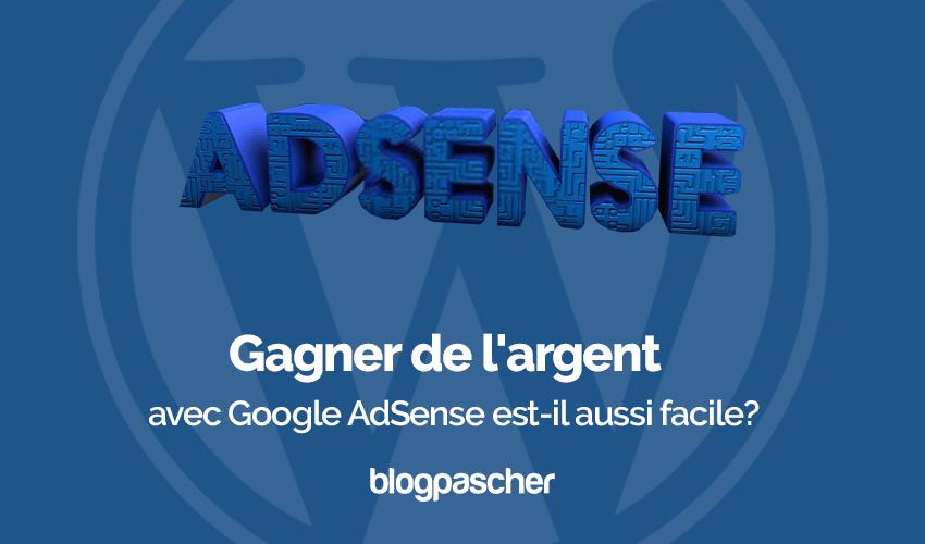 Gagner Argent Google Adsense Facile