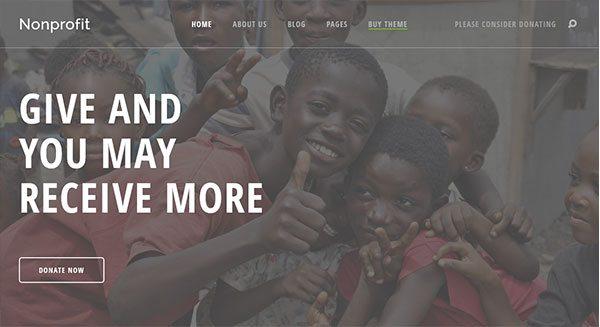 nirlaba-tema-wordpress-membuat-situs-belanja-internet-ong-asosiasi-amal