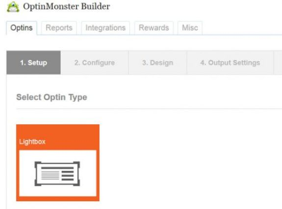 Optin-Monster-setup