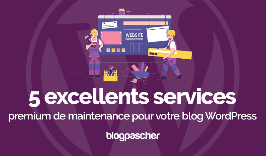 5 Services Premium Maintenance Blog Wordpress
