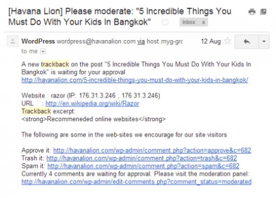 Pingback-Trackback-Contoh