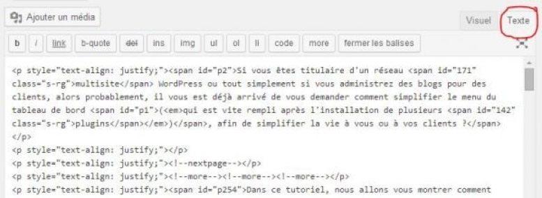 raccourcis-pour-l-editeur-de-texte