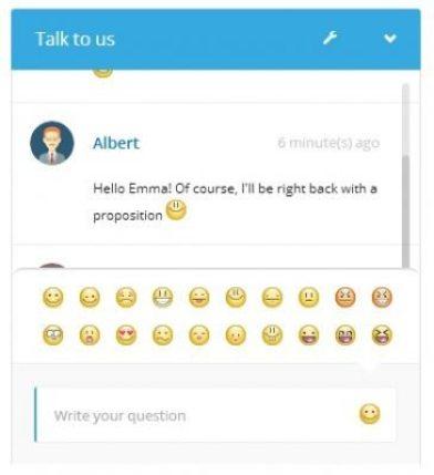 émoicones-için canlı sohbet