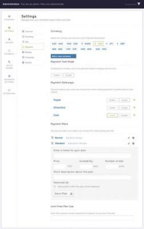 Configurações-page