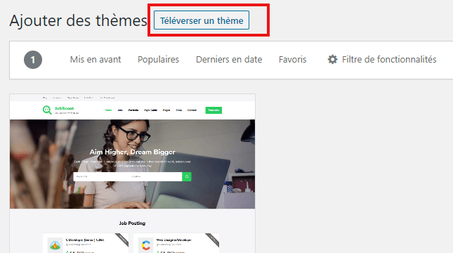 comment rechercher installer activer theme wordpress blog blogpascher 4 1