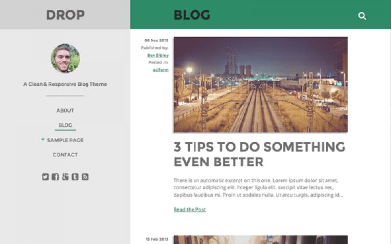 20 temas (plantillas) de WordPress libre para crear un blog ...