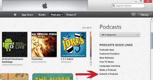 submeter-a-Podcast-on-itunes