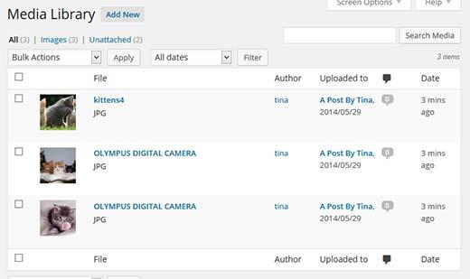 comment restreindre l'accès aux médias WordPress à certains utilisateurs - tina-media-library