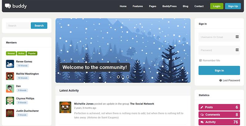 WordPress rencontres thèmes du site