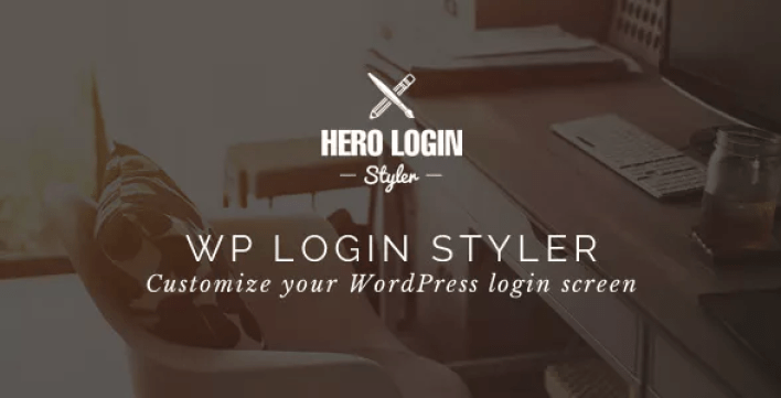 Hero login styler wp login screen customizer plugin wordpress