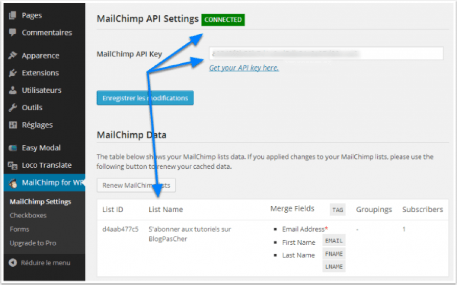 how to export mailchimp template to pdf