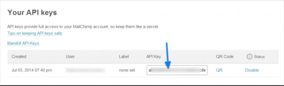 Mailchimp tutorial in het frans de gids voor een nieuwsbrief te kopieer uw sleutel te gebruiken chimpy fandeluxe Choice Image