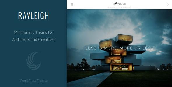 10 Temas de WordPress para crear un sitio web minimalista | BlogPasCher