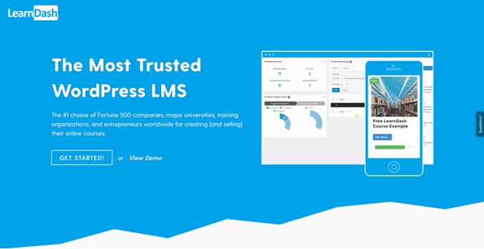 LearnDash plugins wordpress creer espace membres proteger contenu