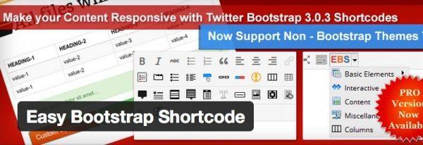 fácil de bootstrap-shortcode shortcodes plugin-de
