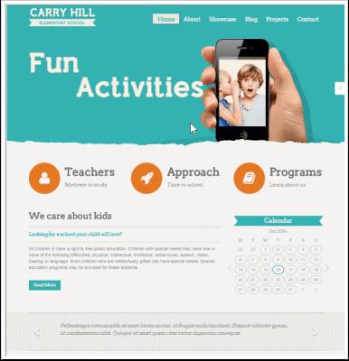 10 temas de WordPress para escuelas y universidades | BlogPasCher