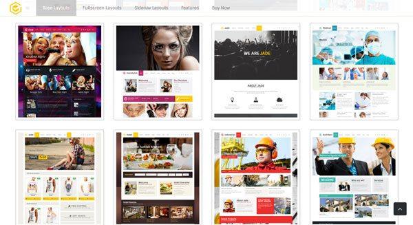 Jade theme wordpress creer site ecommerce fitness construction medecine multipurpose