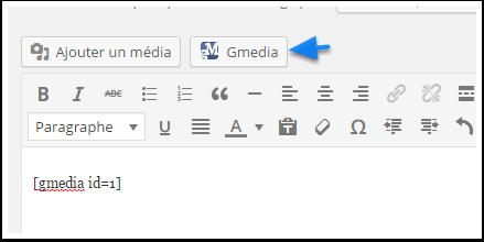 Gmedia düğmeli-işitsel düzenleyici