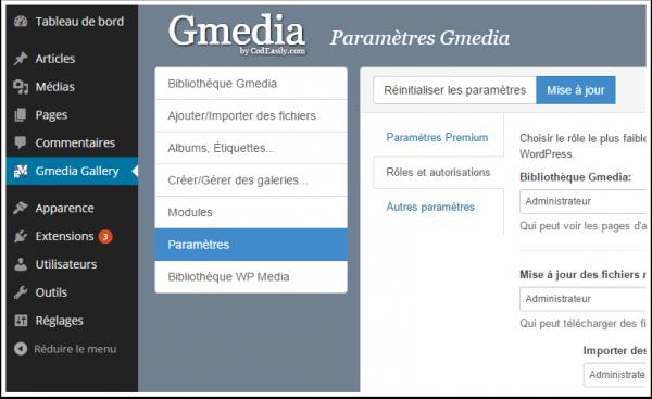 Gmedia-AYARLAR