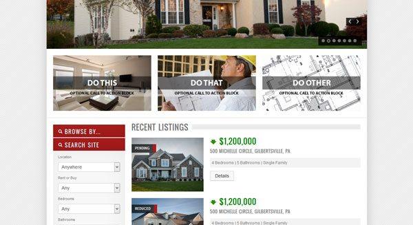 OpenDoor theme wordpress real estate vente location maison voiture