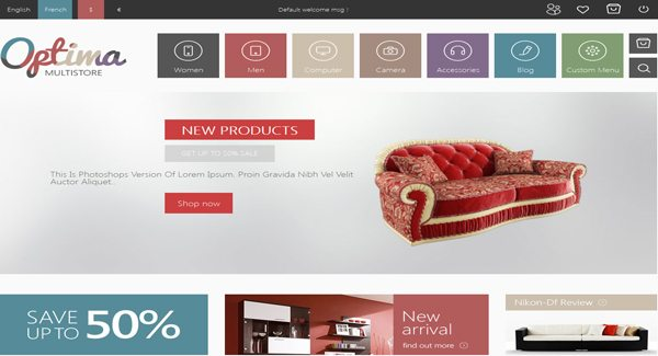 Optima Th Me Prestashop Creer Boutique En Ligne De