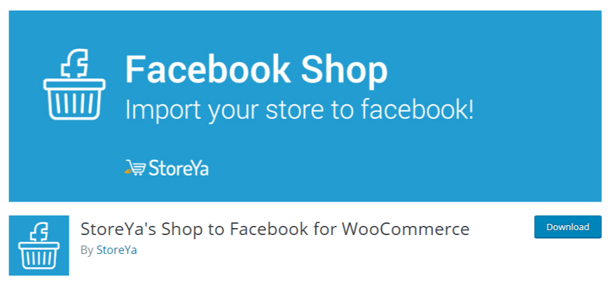 Facebook-Shop storeya
