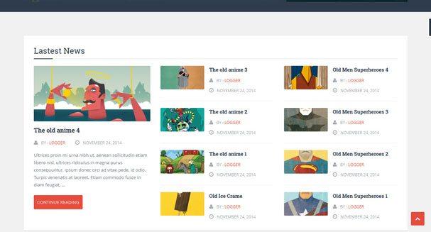 Logger Theme Wordpress Creer Site Blog Pro