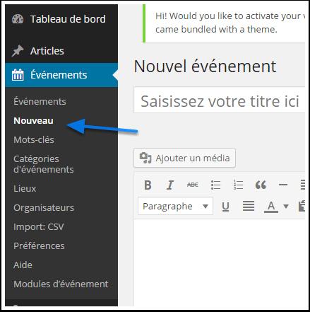 Crear eventos en WordPress con el Calendario de acontecimientos ...