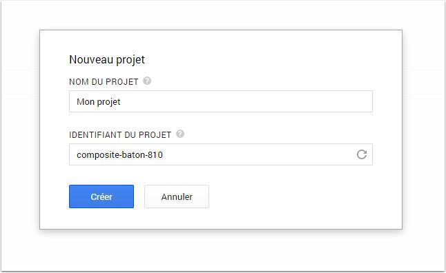 новый проект-Google-апи