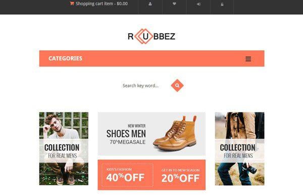 546378fef Rubbez: un tema de Magento para crear una boutique de moda | BlogPasCher