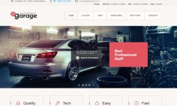 Garagem-theme WordPress-to-create-a-site-web-de-garagem