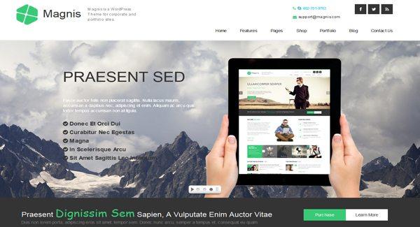 Magnis-tema WordPress-to-membuat-a-situs-d'entreprise