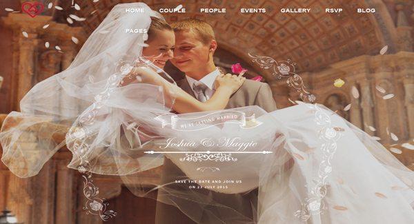 Casamento-Rose-theme WordPress-to-create-local-de-casamento