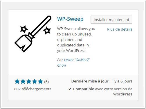 Instalação-wp-sweep