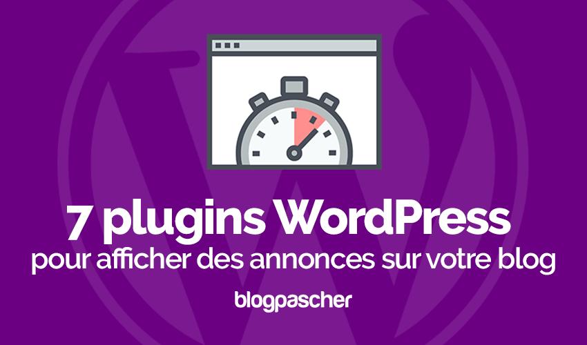 Plugins Wordpress Afficher Annonces Blog Wordpress