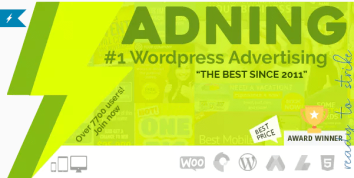 Adning advertising professional all in one ad manager for wordpress plugin