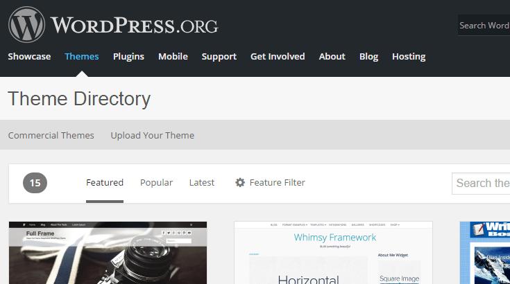 repertoire-de-thèmes-wordpress