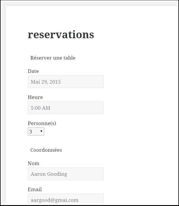 Comment créer un système de réservation pour restaurant